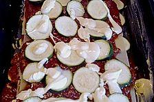 Lasagne mit Zucchini und Hollandaise
