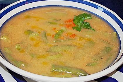 Portugiesische grüne Bohnensuppe 3