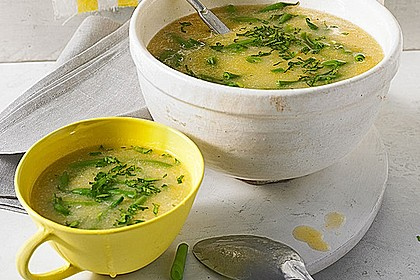 Portugiesische grüne Bohnensuppe 2