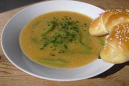 Portugiesische grüne Bohnensuppe 1