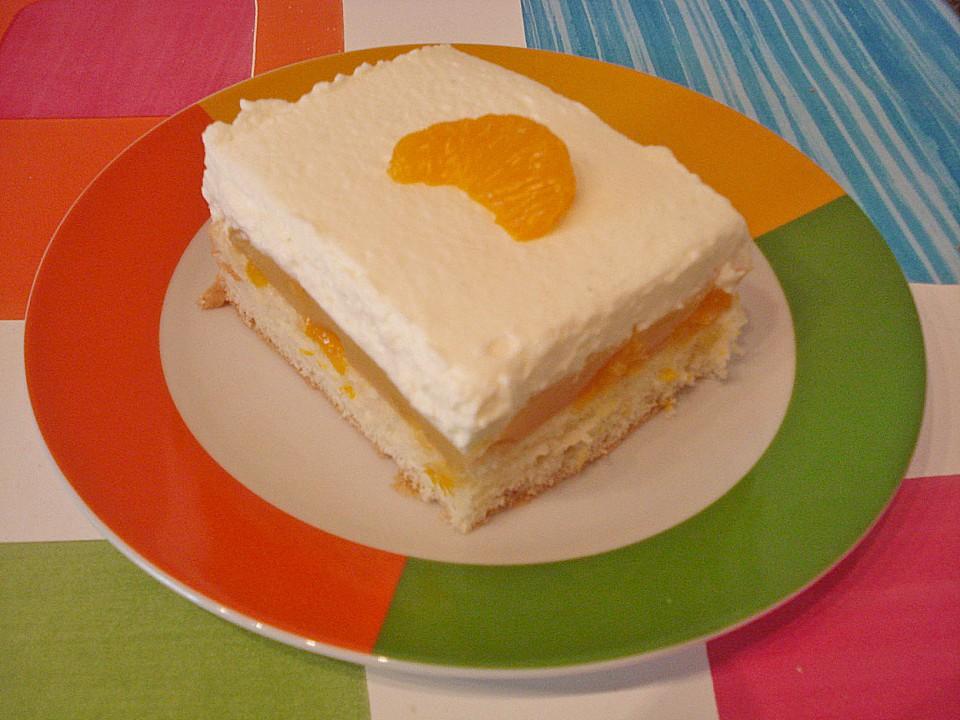 Butterkeks Mandarinen Kuchen Von Reise Tiger Chefkoch De