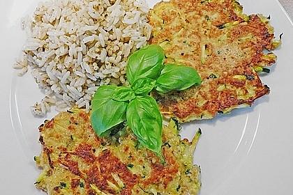 Griechische Zucchini - Küchlein 5