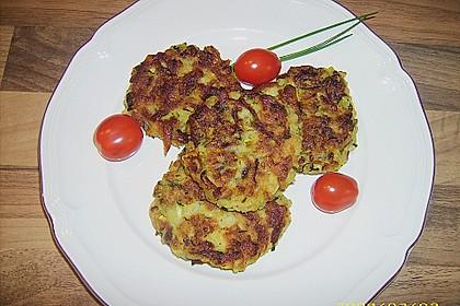 Griechische Zucchini - Küchlein 7