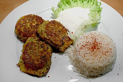 Griechische Zucchini - Küchlein 1