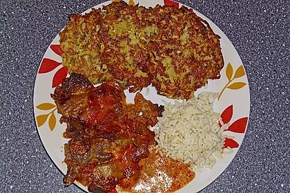 Griechische Zucchini - Küchlein 2