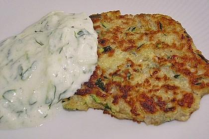 Griechische Zucchini - Küchlein 8