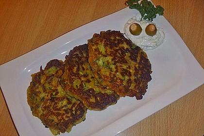Griechische Zucchini - Küchlein 9