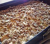Apfel - Quark - Kuchen Laxhmis Art (Bild)