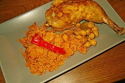 Couscous mit Paprika