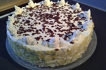 Eierlikör - Schoko - Torte mit QimiQ - Sahnebasis