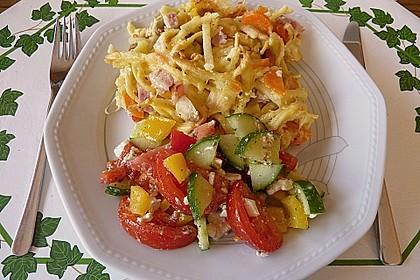Spätzle - Gemüse - Auflauf 1