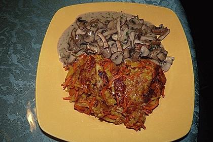 Bratkartoffeln mit Pilzragout 5