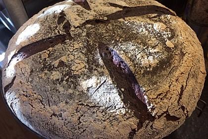 Roggenmischbrot mit Buttermilch TA 200 5
