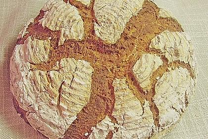 Roggenmischbrot mit Buttermilch TA 200 10