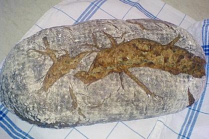 Roggenmischbrot mit Buttermilch TA 200 30