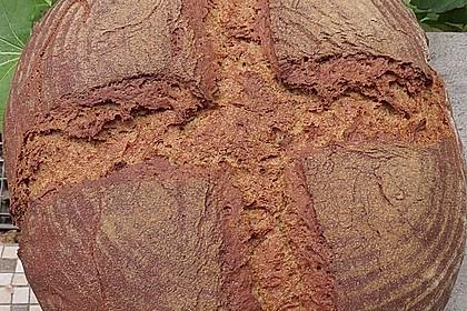 Roggenmischbrot mit Buttermilch TA 200 13