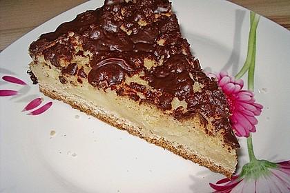 Streuselkuchen mit Pudding 1