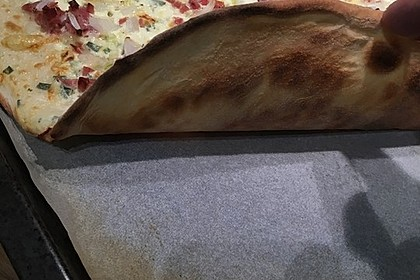 Superschneller Flammkuchen