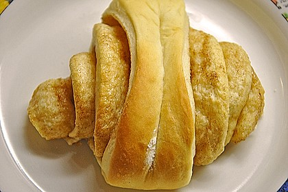 Zuckersüße Franzbrötchen 10