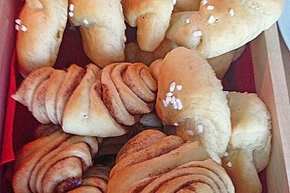 Zuckersüße Franzbrötchen 25