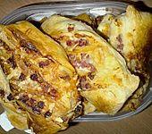 Blätterteig-Schinken-Käse-Stangen (Bild)