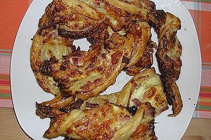 Blätterteig-Schinken-Käse-Stangen 206