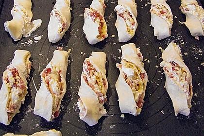 Blätterteig-Schinken-Käse-Stangen 163