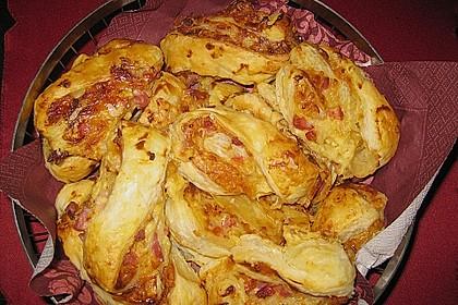 Blätterteig-Schinken-Käse-Stangen 91