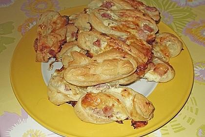 Blätterteig-Schinken-Käse-Stangen 185