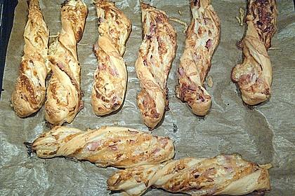 Blätterteig-Schinken-Käse-Stangen 176
