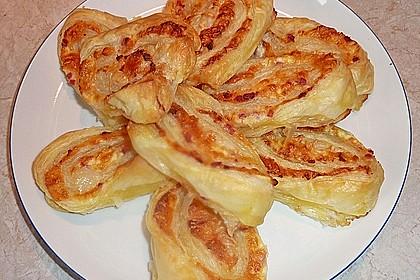 Blätterteig-Schinken-Käse-Stangen 127