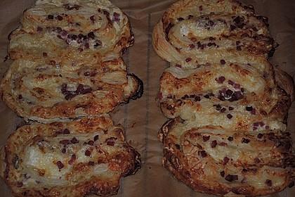 Blätterteig-Schinken-Käse-Stangen 192