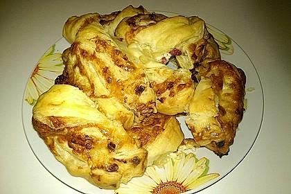 Blätterteig-Schinken-Käse-Stangen 121