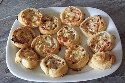 Blätterteig-Schinken-Käse-Stangen 72