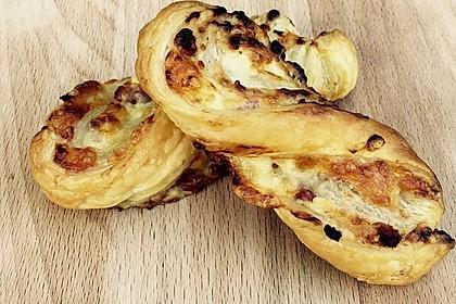 Blätterteig-Schinken-Käse-Stangen 56