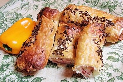 Blätterteig-Schinken-Käse-Stangen 141