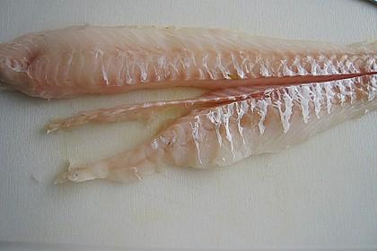 Skreifilet auf Möhren - Sellerie - Julienne mit Kräuterseitlingen 6