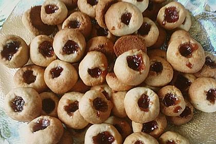 Marzipanbällchen mit Himbeergelee - Füllung 16