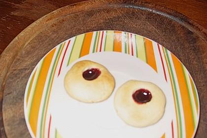 Marzipanbällchen mit Himbeergelee - Füllung 10