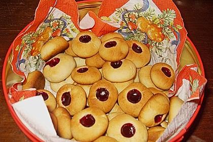 Marzipanbällchen mit Himbeergelee - Füllung 6