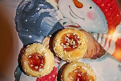 Marzipanbällchen mit Himbeergelee - Füllung 5