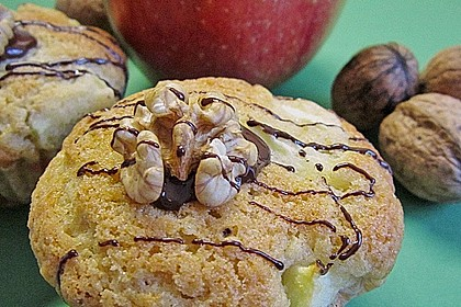 Apfel-Nussmuffins 10