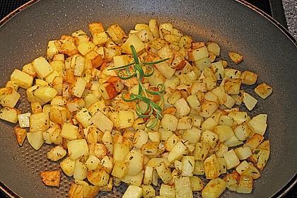 Bratkartoffeln nach mediterraner Art 9
