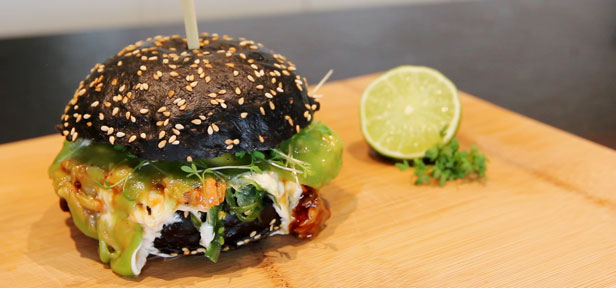 chefkoch pulled teriyaki lachs burger von chefkoch. Black Bedroom Furniture Sets. Home Design Ideas