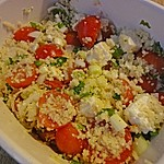 Couscous - Salat mit Tomaten und Feta