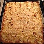 Kandierter Apfelkuchen