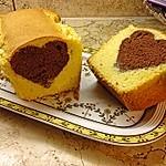 Marmorkuchen mit Nougatcreme