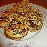 Fingerfood-Quiches in 2 Variationen