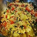 Scharfer Couscous - Salat
