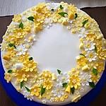 Schneller Zitronenkuchen auf dem Blech